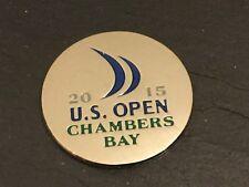 2015 CAMERE US Open Bay LOGO piatto Coin Marcatore Pallina Da Golf Nuovo Jordan speith