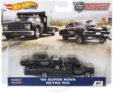 Hot Wheels 2019 Team Transport '66 Super Nova w/ Retro Rig 1/64 Diecast Model