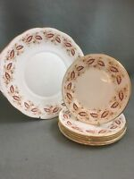 Queen Anne China Side  / Tea Plates x 6 & Serving Plate Set Wedding / Tea Room