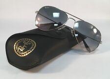 New RAY BAN Sunglasses 3025 003 32 Aviator Silver Grey Ray-Ban 58mm Metal RayBan