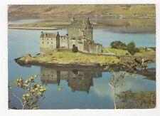 Eilean Donan Castle Loch Duich 1975 Postcard 521a