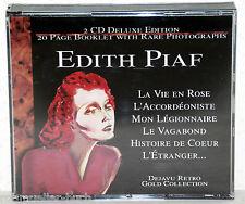 2 CD-Box EDITH PIAF - Deluxe Edition