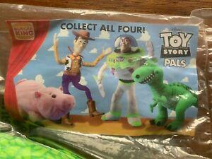 1995 Toy Story Pals Plush Set ~ Woody Buzz Ham Rex (all 4) ~ Burger King
