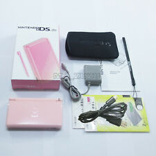 New Coral Pink Nintendo DS Lite HandHeld Console System For DSL Dsi GBA games