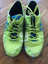 Asics Mens Gel Upcourt Indoor Court Shoe Size 11.5 Lime/blue/black