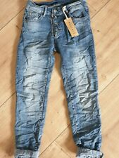 ITALY Melly&CO BOYFRIEND JEANS Gr XL NEW COLLECTION MC-7007 TRENDY 2020