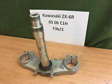 KAWASAKI ZX-6R C1H 05 06 LOWER BOTTOM YOKE FORK CLAMP BREAKING SPARES 636 ZX