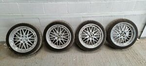 4x BBS LM Rep 18 Inch Alloy Wheel with nearly new tyres