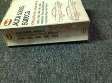 1984 1985 1986 1987 1988 Audi 5000S 5000CS Turbo Diesel Service Shop Manual