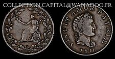Royaume Unis 1/2 Penny Token 1811 Cuivre