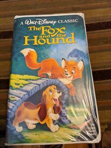 The Fox and the Hound VHS #2041 Black Diamond Disney Film The Classics Original