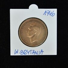 1946 Georgivs VI One Penny - Copper - Extremely Fine Condition