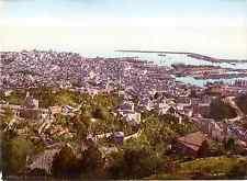 Genova. Veduta dall' Hotel Righi.   Photochrome original d'époque, Vintage