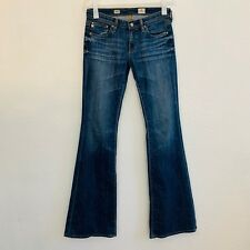 AG Adriano Goldschmied Size 26R Belle Flare Leg 14 Years Wash Denim Jeans