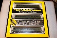 N Gauge Farish BR Class 101 3 Car DMU Green --- Boxed 8143