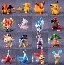 New Big size Pokemon PVC Figure Pikachu Monster Action Figures kid toys 6-8cm ~~