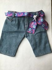 American Girl Doll 2011 Kanani's Retired Aloha Outfit Jean Capris & Belt ONLY