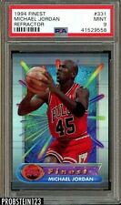 "1994 Finest Refractor #331 Michael Jordan HOF PSA 9 MINT "" HOT CARD """