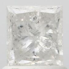 FIERY IGI CERTIFIED 1.03 CT PRINCESS CUT NATURAL LOOSE DIAMOND UNTREATED G - I2