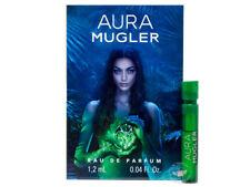 Perfume Vials (Trial Size) ~ Aura By Thierry Mugler 1.2ml EDP Spray x 2 units