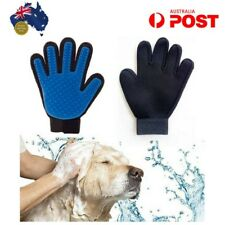 Hair Glove Remover Dog Pet Cat Grooming Brush Massage Gloves Magic Deshedding