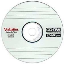 Verbatim-DataLifePlus HI-SPEED CD-RW 650 MB 4x-10x ** 4 CD 'S inviati in maniche