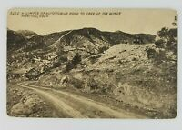 Postcard Automobile Road Cave of the Winds Manitou Colorado
