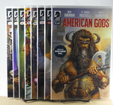 Neil Gaiman American Gods Shadows #1 2 3 4 5 6 7 8 1st Pt Dark Horse Comics 2017