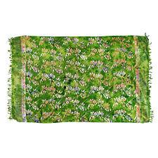 Sarong, Pareo, Wrap - Green multicolor batik - handmade in Bali - Hary Dary