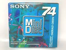 Sony MDW-74AN Emerald Green 74 Minutes Recordable MD MiniDisc