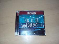 CD  METALLICA   kick it loud  (2CD)