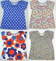Mini Boden girls cotton short sleeve 'pretty' top t-shirt  age 2 - 14 years