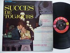 DAVId ROSE Succes de toujours KAPP RECORDS 314002 S