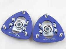 Camber Plates E30, E34, E28, E24 Drift BMW for coilover blue