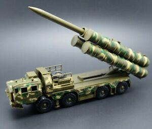 S-300V Military Camouflage Tactical Radar Missile Car Model Trumpeter Russian