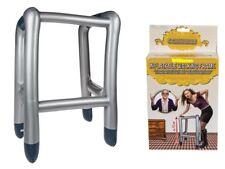 Aufblasbar Gehhilfe Gehbock Scherzartikel Geschenk Gadget Party Fun Rollator