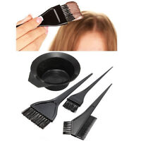 4/5Pcs Hair Colouring Brush And Bowl Set Tint Bleaching Dye Kit Beauty Comb UK