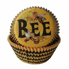 25 PC Set Bumble Bee Hive Cupcake Liners - Bakell Baking, Cake and Craft Tools