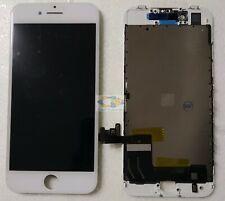  DISPLAY APPLE IPHONE 8 BIANCO ORIGINALE RIGENERATO SCHERMO LCD RETINA TOUCH 