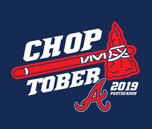 Atlanta Braves CHOPTOBER shirt baseball postseason playoffs October Acuna Albies