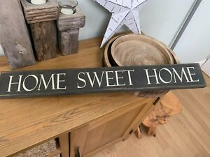 Lovely Shabby Chic Country Long Wooden Sign