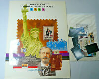 Sealed 1985 Mint Set Commemorative USPS Souvenir Yearbook Album with Stamps
