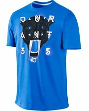 NEW NIKE KD - ANIMAL 35 - BLUE / WHITE BASKETBALL DRIFIT SHIRT KD JORDAN SIZE M