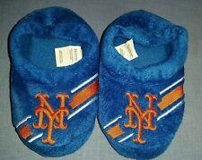 NY NEW YORK METS MLB Children's Slippers Size 8-9