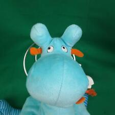 BIG SOFT BABY BOY BLUE ORANGE IKEA GIRAFF GIRAFFE BARNSLIG PLUSH STUFFED ANIMAL