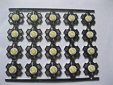 10PCS 3W Cool White 20000k High Power LED Bead Emitter DC3.0-3.8V 700mA
