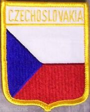 Embroidered International Patch National Flag of Czechoslovakia NEW bunting