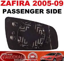 VAUXHALL ZAFIRA B 05-09 ELECTRIC HEATED WING MIRROR GLASS LH NEW PASSENGER SIDE
