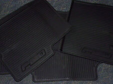 NEW FORD F150 RUBBER VINYL FLOOR MAT 3PC SET ALL WEATHER BLACK AL3Z-1813300-AA