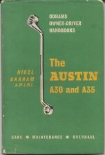 Austin A30 & A35 Handbook for the owner/driver all models 1952-1960 pub. Odhams